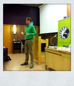 Anders Waller pratar om genus och jämställdhet