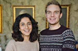 Aida Badeli och Johan Andersson